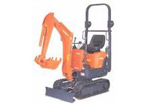 800 kg Excavator Hire Melbourne. BAYCITY RENTALS