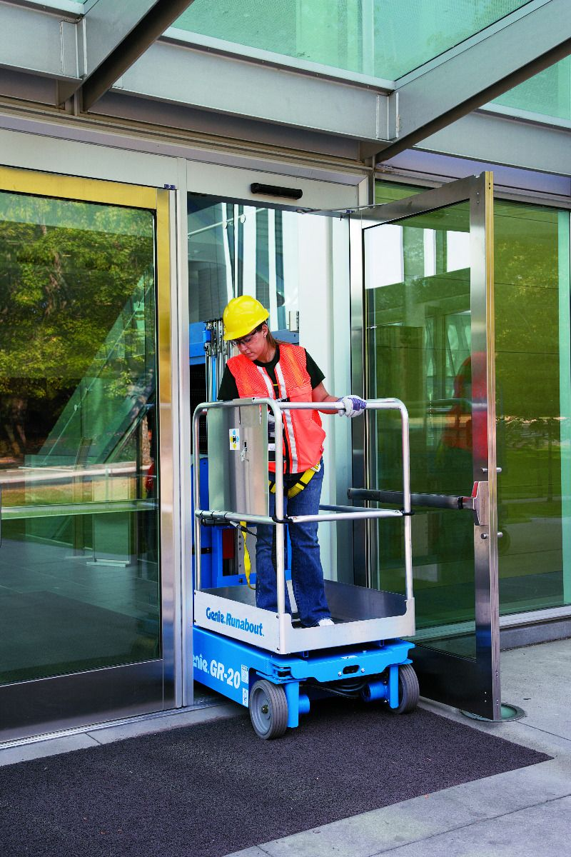 Single Man Lift Hire - EWP Hire Melbourne - BAYCITY RENTALS
