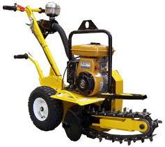 Ground Hog Trencher Hire Melbourne. BAYCITY RENTALS